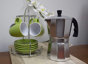Imusa Aluminum Espresso Coffeemaker