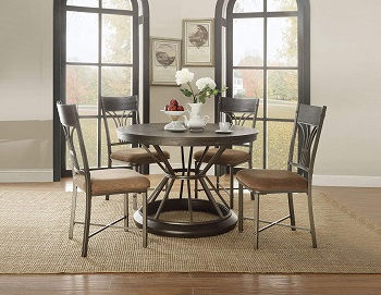 Major-Q Transitional Style Dining Table