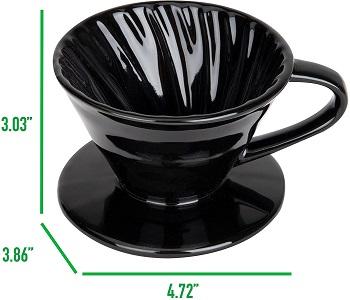 Mind Reader Ceramic Dripper