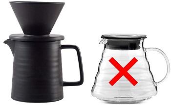 Mondays Pour Over Coffee Maker Set