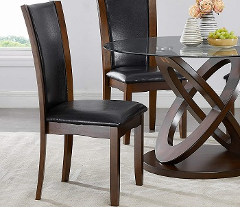 Roundhill Furniture 5 Piece Table Set