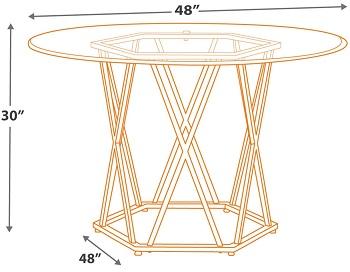 Signature Design Contemporary Table