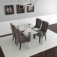 Best Big Silver 5 Piece Dining Set Rundown