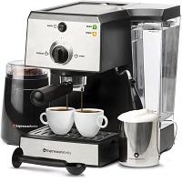 Best Cheap Home Espresso Machine With Grinder Rundown