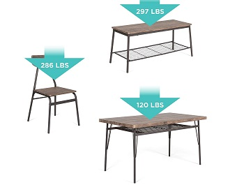 Best Choice Products Dining Set