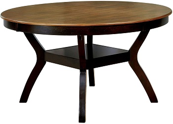 Best Contemporary 54 Inch Round Pedestal Dining Table