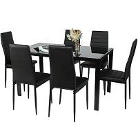 Best Glass Black Dining Room Set For 6 Rundown