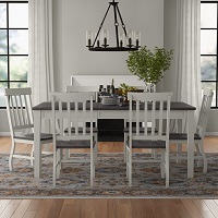 Best Grey Extendable Dining Table Set With 6 Chairs Rundown