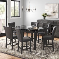 Best Marble High Dining Table Set For 6 Rundown