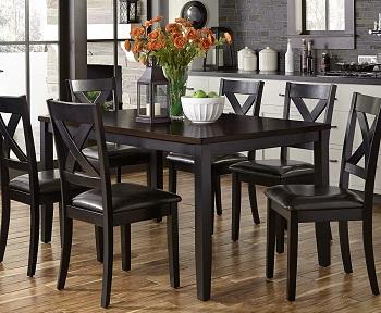 Best Of Best Black Dining Room Set For 6