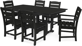 Best Patio Black Dining Set For 6