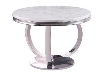 Best Round Silver 5 Piece Dining Set