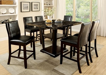 Best Square Bar Height Table For 6