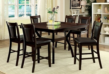 Best Square Counter Height Dining Table Set For 6