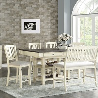 Best White Counter Height Dining Table For 6 Rundown