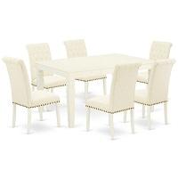 Best White Extendable Dining Table Set For 6 Rundown