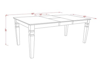 Best White Extendable Dining Table Set For 6