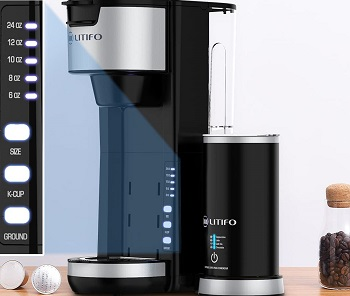 Best With Frother Fresh Ground Coffee Maker