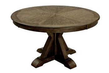 Best Wooden 54 Inch Round Pedestal Dining Table