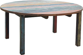 Best Wooden 55 Inch Round Dining Table