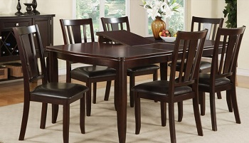 Best Wooden Bar Height Dining Table For 6