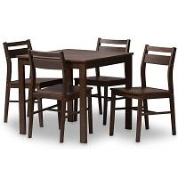 Best Wooden Contemporary 5 Piece Dining Set Rundown