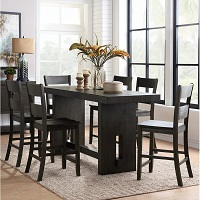 Best Wooden High Top Dining Table Set For 6 Rundown
