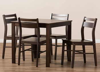 Best Wooden Small 5 Piece Dining Set