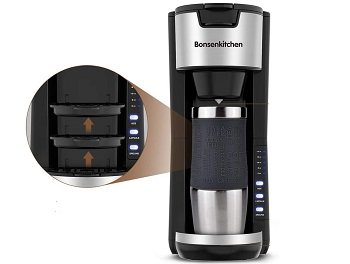 Bonsenkitchen Mini Coffee Maker