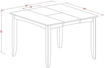 E.W.F. Gathering Dining Table