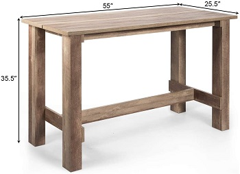 Giantex Counter Height Dining Table