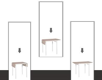 HOMCOM Modern Table Set