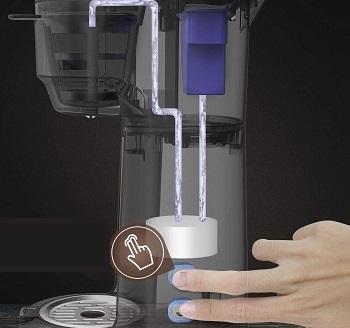 KINGTOO Single Serve Coffee Maker