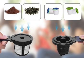 LITIFO Coffee Maker With Frother