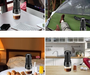 Moocoo Portable Espresso Machine