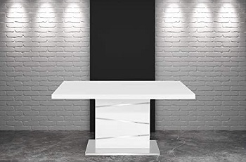 New Spec Metal Dining Table