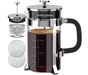 QUQIYSO French Press Coffee Maker
