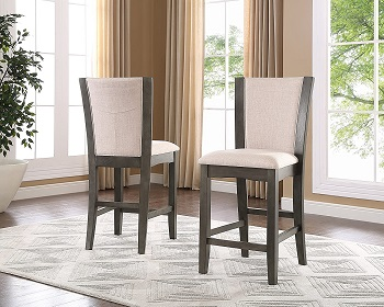 Roundhill Furniture Glass Dining Set