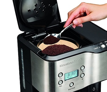 Best 2-Way Coffee Maker With Hot Water Dispenser