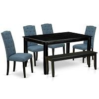 Best 6 Seat Black 6 Piece Dining Set Rundown
