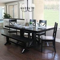 Best Black 6 Piece Farmhouse Dining Set Rundown