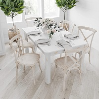 Best Cheap Solid Wood Dining Table With 6 Chairs Rundown