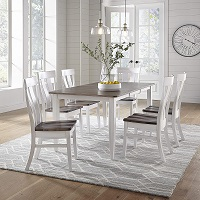 Best Farmhouse Solid Wood Dining Table With 6 Chairs Rundown