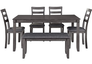 Best Modern Rustic Dining Set For 6