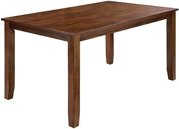 Best Modern Solid Wood Dining Set For 6
