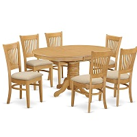 Best Of Best Round Dining Table Set For 6 With Leaf Rundown