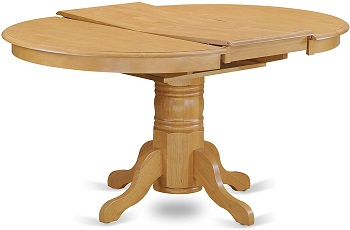 Best Of Best Round Dining Table Set For 6 With Leaf