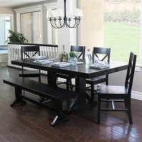 Best Of Best Solid Wood Dining Set For 6 Rundown