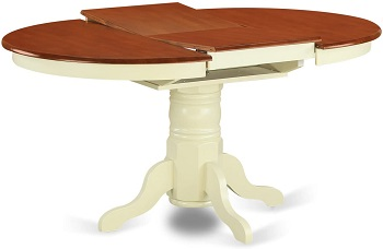 Best Pedestal White Oval Dining Table Set For 6