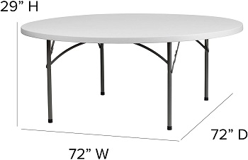 Best Round 6 Foot Dining Table